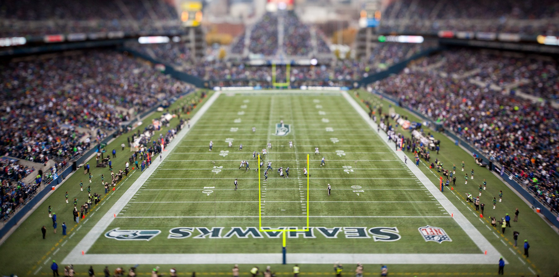 NFL: NOV 13: Ravens at Seahawks